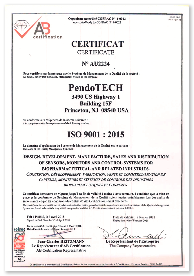 pendotech-iso-9001-2015-certificate