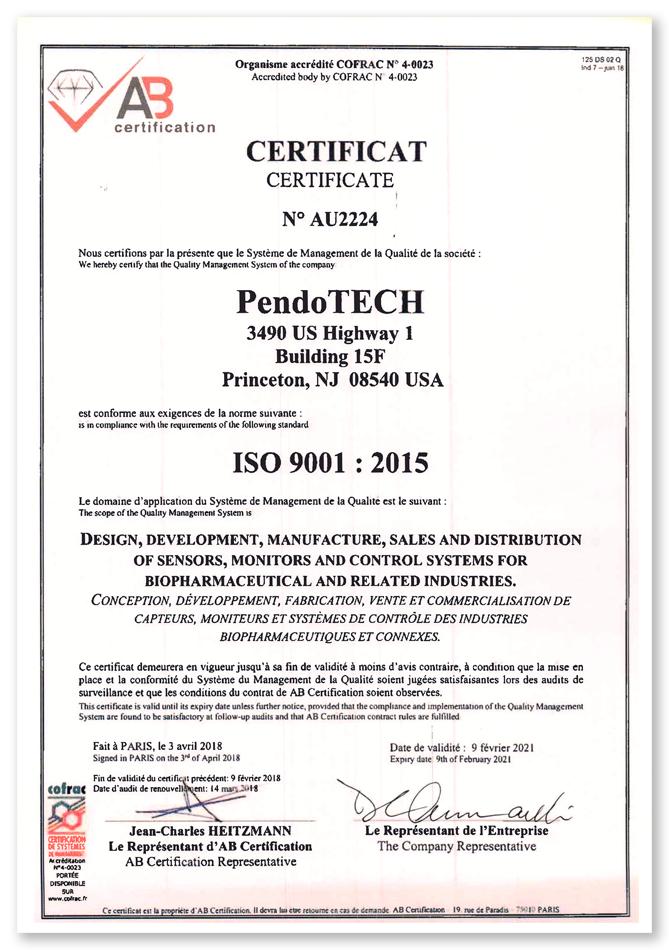 pendotech-iso-9001-2015-certificate